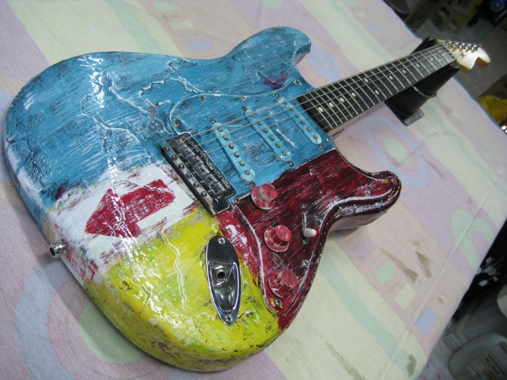 Fender Stratocaster MiM diseñada por Sabiote